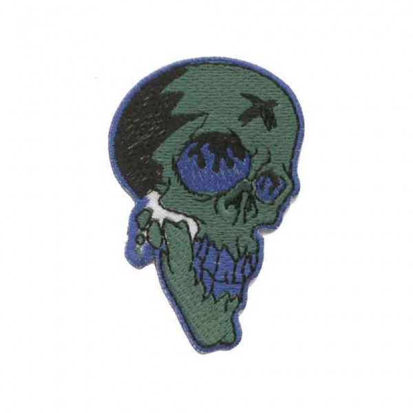Zombie Totenkopf Patch