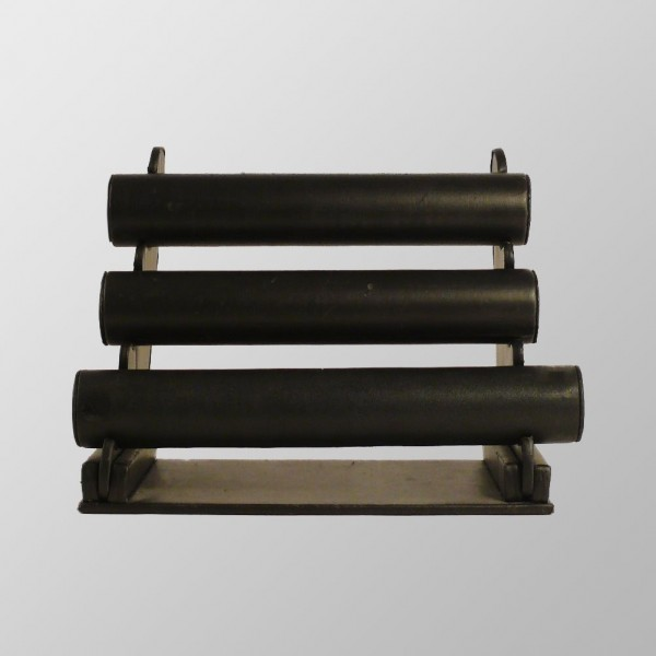 Drei Rollen Armband Display POS System aus Kunstleder