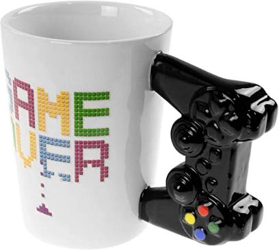 Game Over Gaming Controller Tasse ca. 300ml