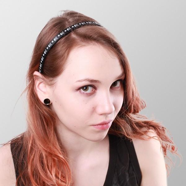 Stern Totenkopf Haarband