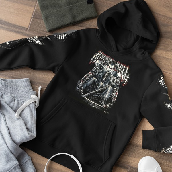 Wild Zipper Hoodie Welcome to Hell