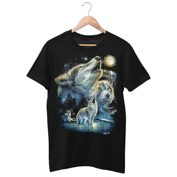 Wild Motiv Shirt Howlin Wolf
