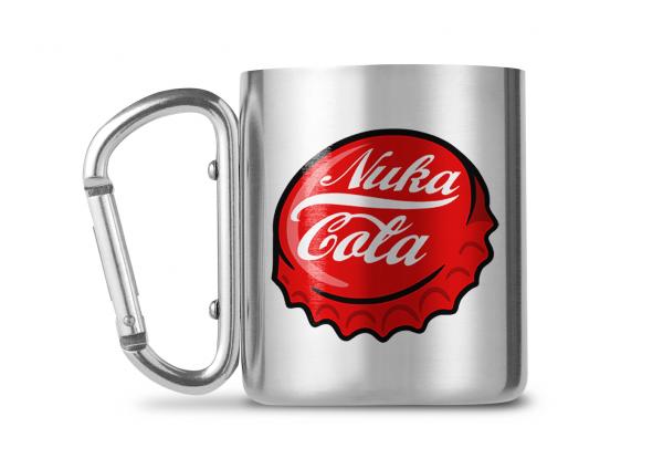 Fallout Nuka Cola Carabiner Metall Tasse Mug