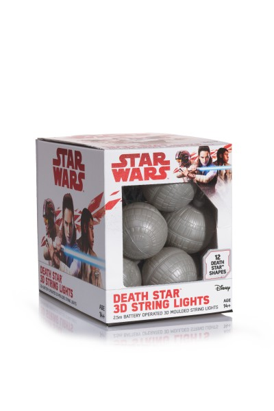 Star Wars Todesstern 3D Lichterkette