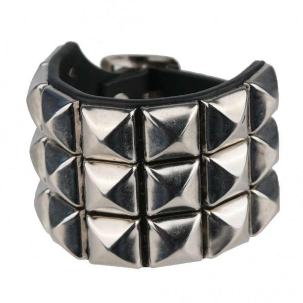 Armband Metall piramides