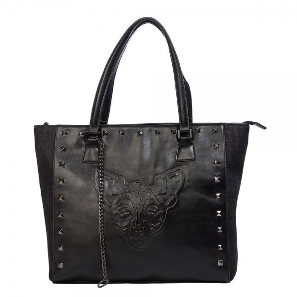 Banned Alternative Phantom Handtasche schwarz