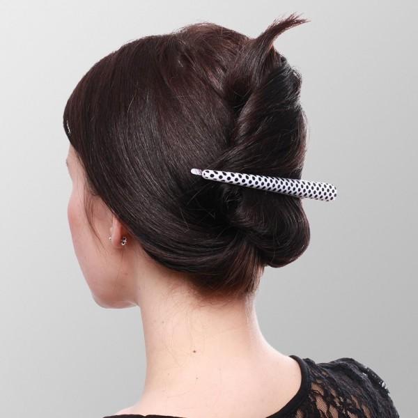 Haarspange Polka Dots Schnabelspange