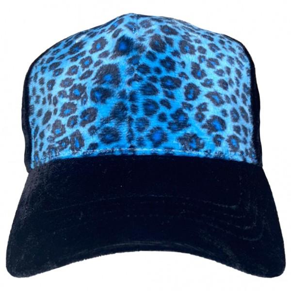 Rock Daddy Blaue Leo Print Cap