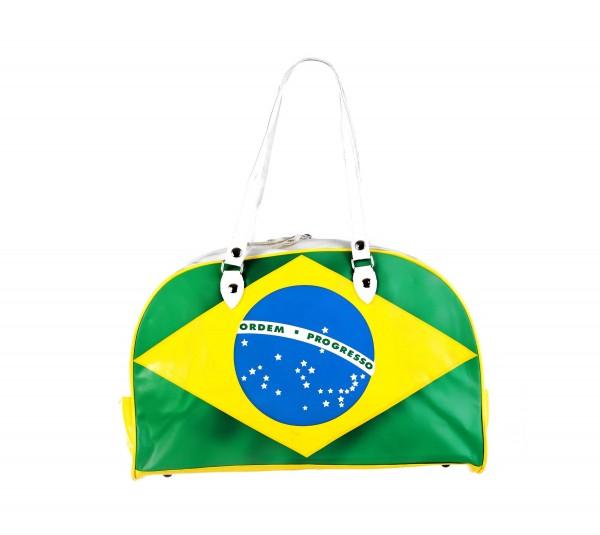 Reisetasche mit Brasilianischer Flagge im All Over Print