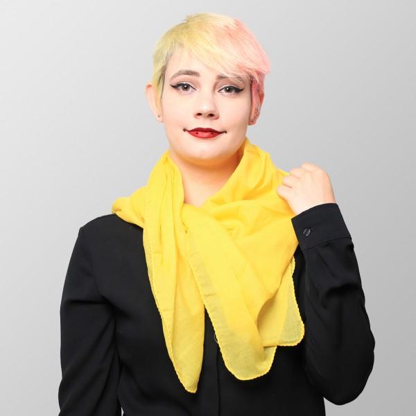 Baumwolltuch Uni Gelb Farben
