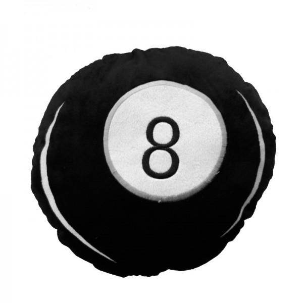 Eight Ball Billiard Kugel Kopfkissen
