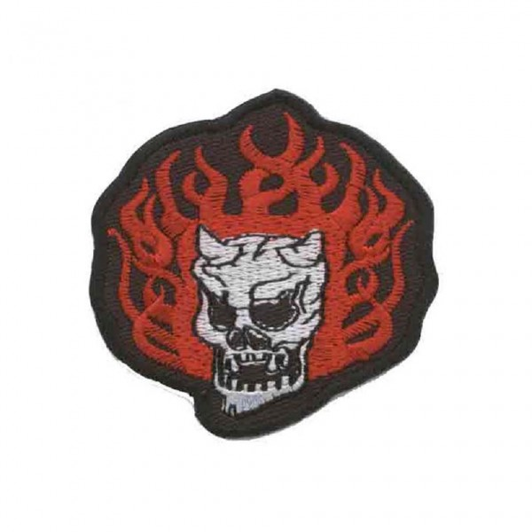 Totenkopf Teufel Patch