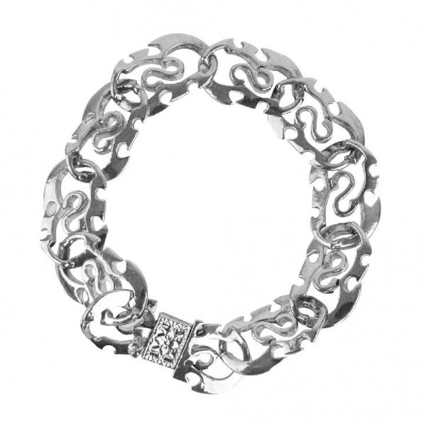 Silbernes Glieder Armband