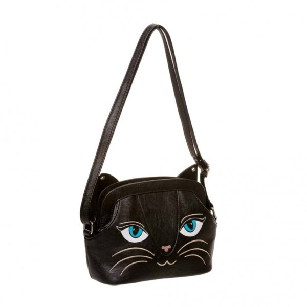 Banned Kitty Cat Umhänge Tasche
