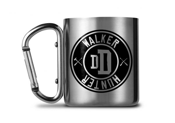 The Walking Dead Carabiner Metall Tasse Mug