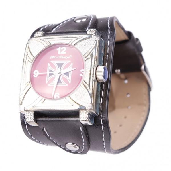 Eisernes Kreuz Biker Armbanduhr