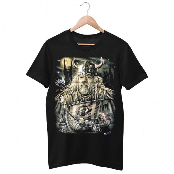 Wild Viking auf See T-Shirt