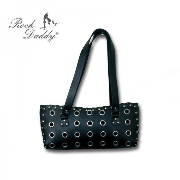 Rockige Handtasche mit Nieten