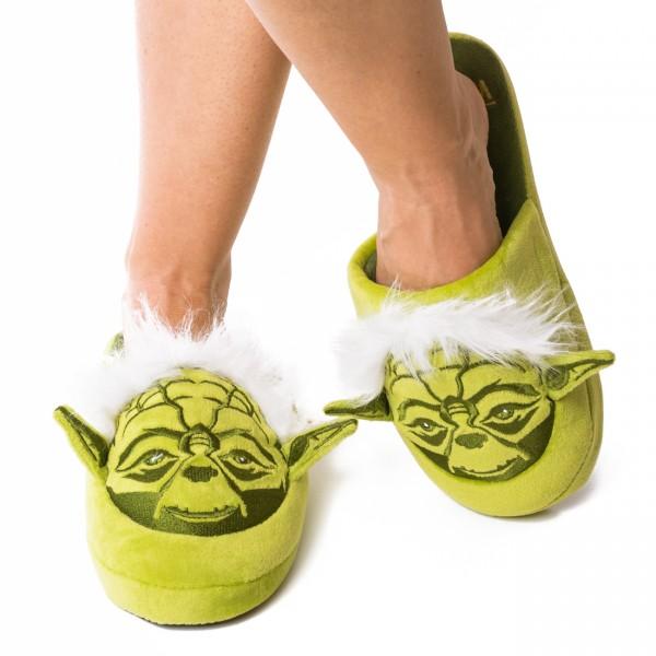Star Wars Meister Yoda Plüsch Hausschuhe