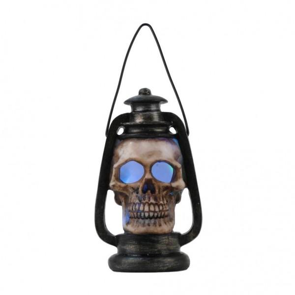 LED-Öllampe mit Totenschädel mit Licht