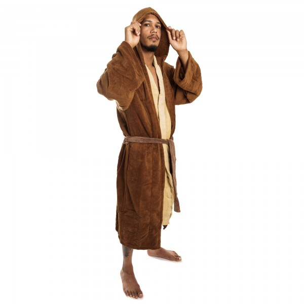 Star Wars Jedi Bademantel Fleece Robe braun
