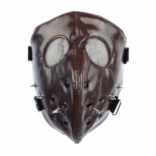 Leatherette voll Maske