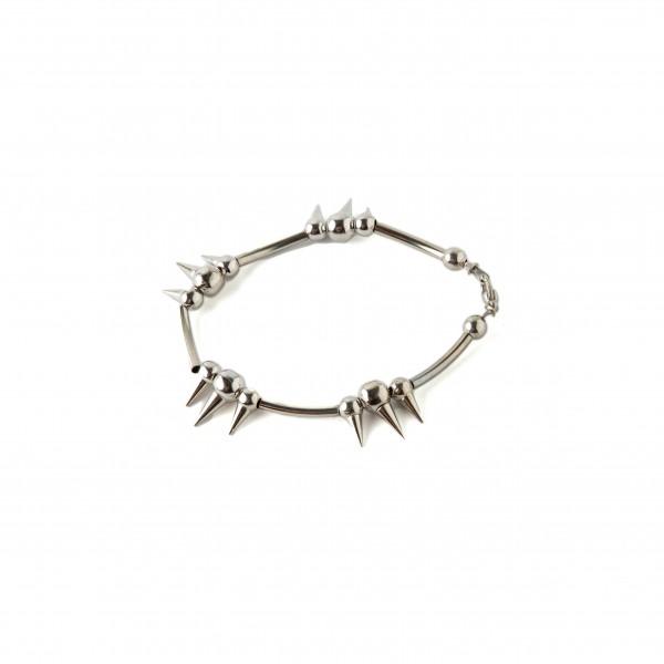 Silbernes Spike Armband