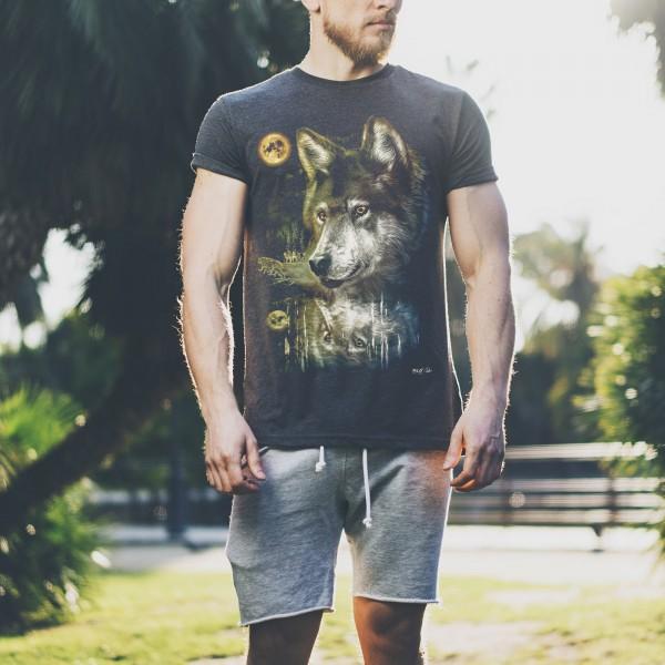 Wolfsrudel Wild Biker T-Shirt