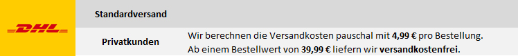 DHL Versand Deutschland Privatkunden