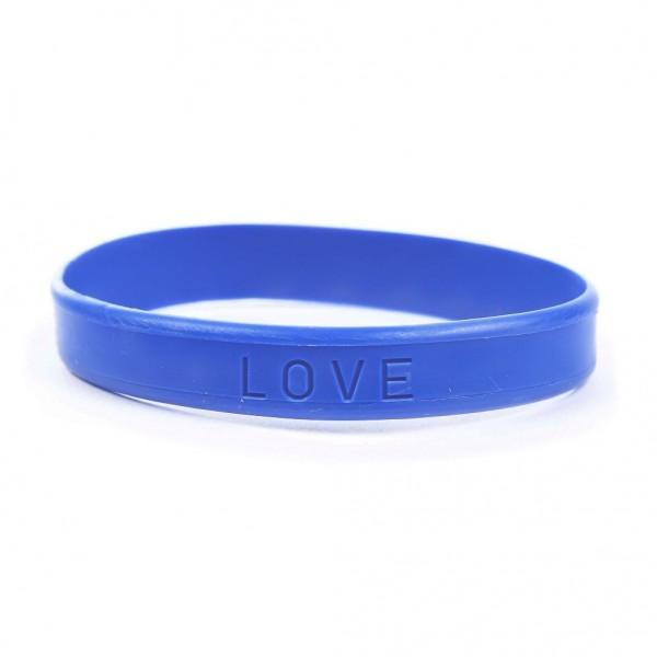 Gummi Armband LOVE