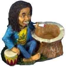 Bob Marley Aschenbecher Rastaman
