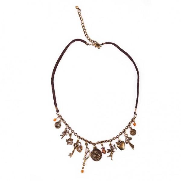 Kupfre Charm Amulett Halskette