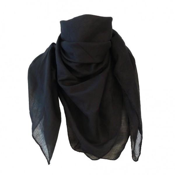 Baumwolltuch Schwarz Uni Farben