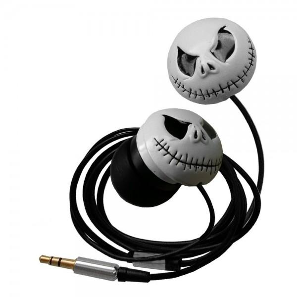 Rockabilly Headset Ohrhörer Kopfhörer l Totenkopf Skull Gothic l Gothic Totenkopf l 3,5mm l