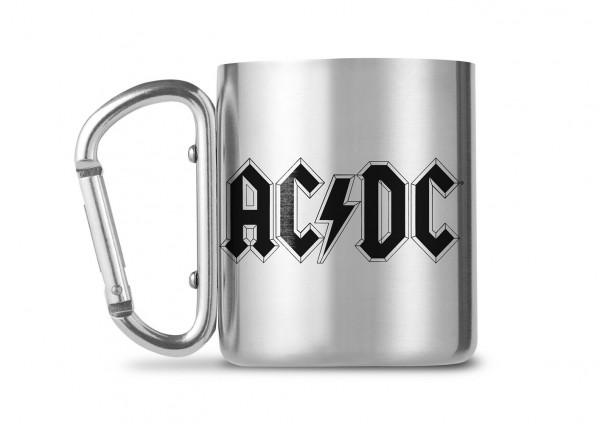 AC DC Carabiner Metall Tasse Mug