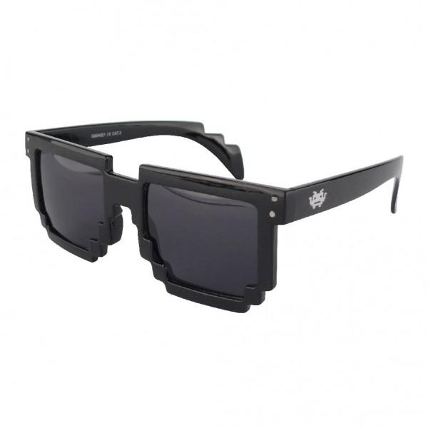 Geekinvader Exclusiv 8 BiTS Nerd Sonnenbrille schwarz