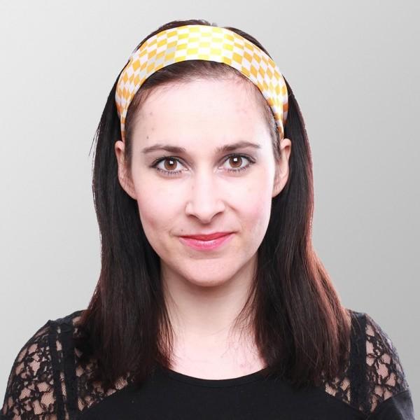 Schachbrett Haarband