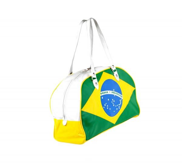 Handtasche mit Brasilianischer Flagge als All over Print