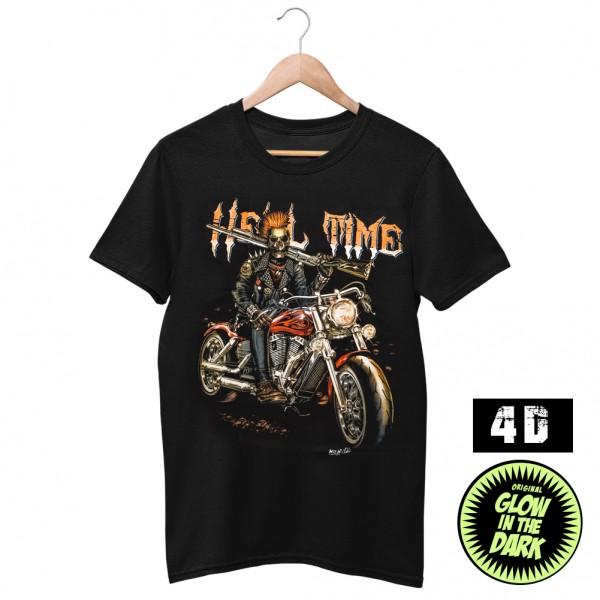 Wild Männer T-Shirt Wild 4D Deisgn