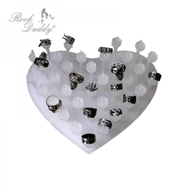 POS Herz Förmiges Ring Display für den Kassenbereich