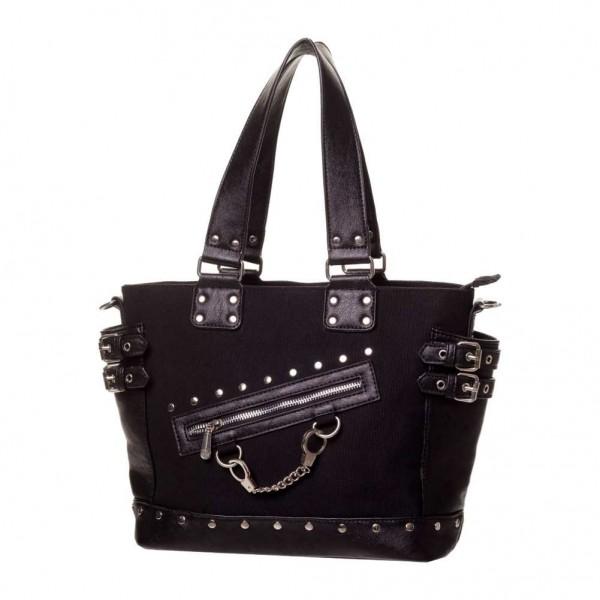 Banned Handtasche mit Handschellen Uni Schwarz