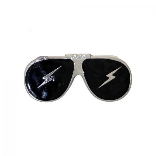 Sonnenbrille Gürtelschnalle mit Blitz