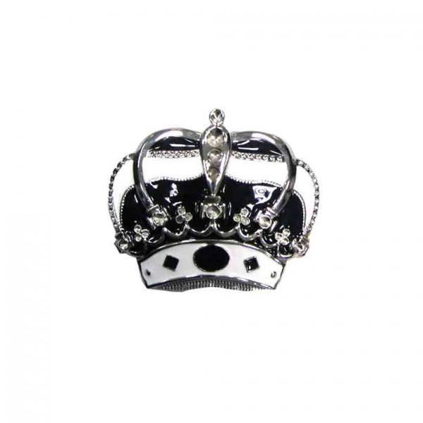 Massive Queen Krone Gürtelschnalle