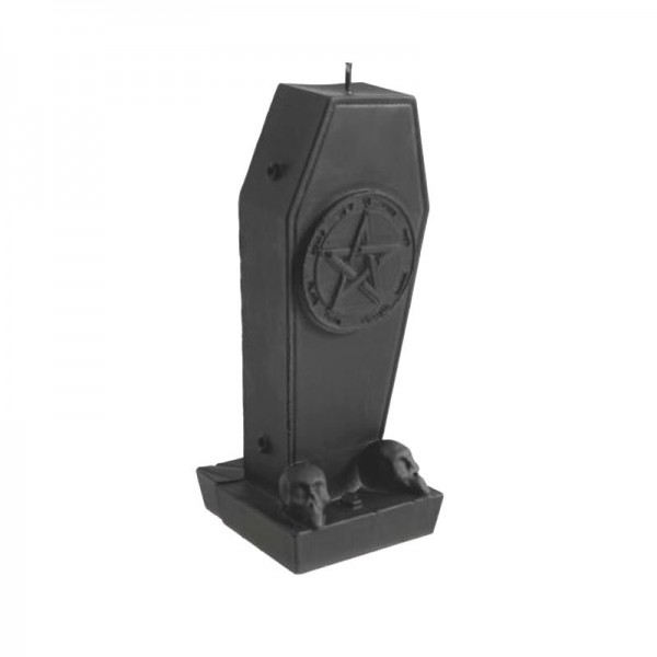Pentagramm Sarg Kerze