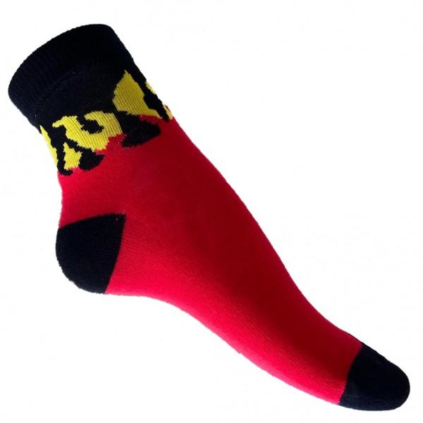 Flammen Design Socken Multicolor one size
