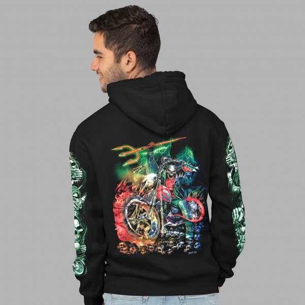 Wild Hoodie Glow in the Dark Rider from Hell