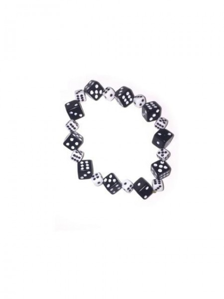 Würfel Armband mit kleinen und großen Würfeln