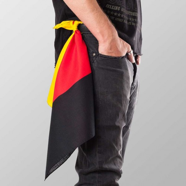 Bandana Halstuch Multicolor Deutschland Flagge 55 cm x 55 cm