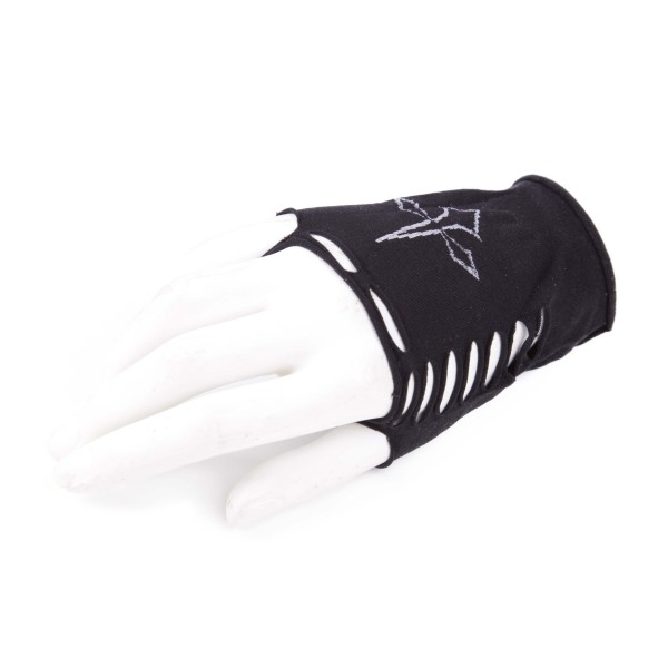 Dolch Gothic Fingerlose Handschuhe