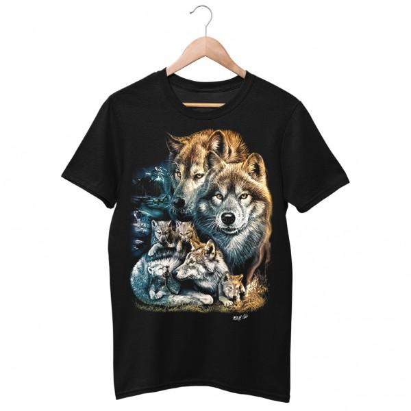Wild Wolfsrudel Wild Tribe T-Shirt
